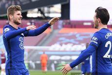 Hasil West Ham Vs Chelsea, Gol Tunggal Timo Werner Menangkan The Blues