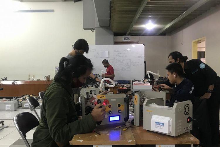 Proses pembuatan ventilator karya anak bangsa, Vent-I.