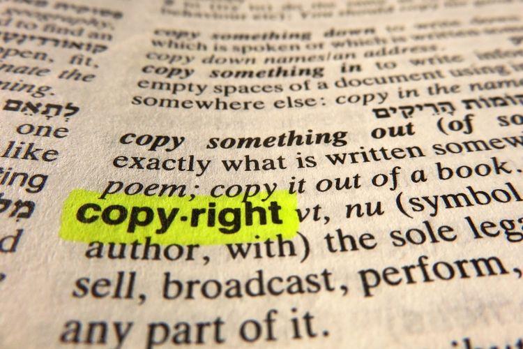 Hak cipta.