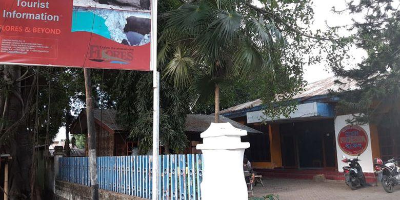 Guest House Floresa di Maumere, Kabupaten Sikka, Flores, Nusa Tenggara Timur, Senin (27/5/2019).