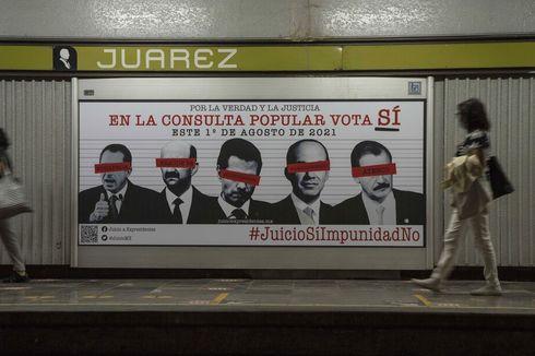 Meksiko Adakan Referendum untuk Selidiki Kejahatan Mantan Presiden Selama Menjabat