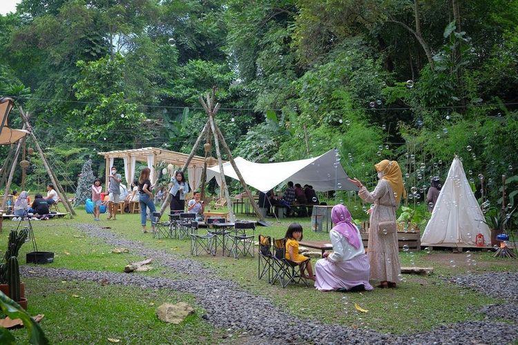 Tempat makan bernama Camp Coffee & Nature di Kota Yogyakarta (dok. Camp Coffee & Nature).
