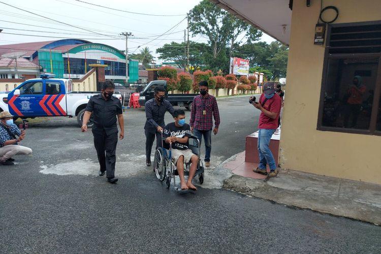 Spesialis begal dengan kekerasan dilumpuhkan Sat Reskrim Polres Rejang Lebong, Polda Bengkulu