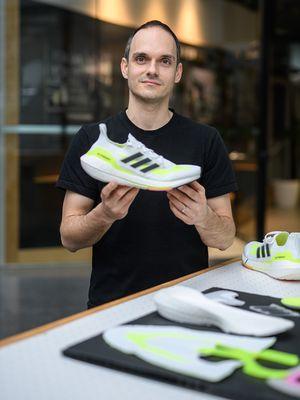 Moritz Höllmüller, Senior Design Director Footwear, adidas Running.