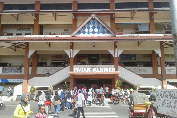 Pasar Klewer di Solo, Jawa Tengah, Kamis (14/6/2018).
