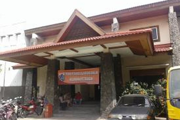 Posko penanggulangan banjir di RW 03, Kelurahan Petogogan, Kebayoran Baru, Jakarta Selatan, Rabu (11/2/2015).
