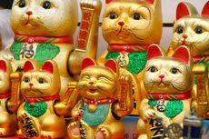 Mengenal Patung Kucing Keberuntungan Feng Shui, Simbol Kekayaan