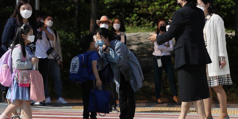 Covid-19, Korea Selatan Batasi Jumlah Murid Masuk