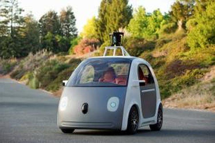 Mobil pintar rancangan Google