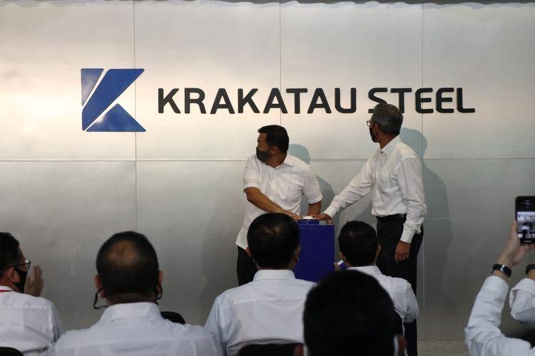 Logo baru Krakatau Steel