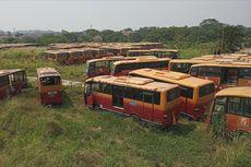 5 Fakta 300 Bus Berlabel Transjakarta Terbengkalai, Masih Berfungsi hingga Bantahan Pemprov DKI