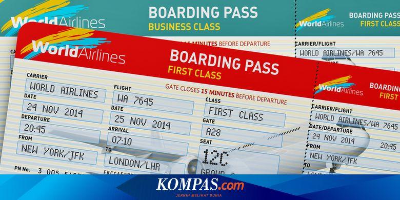 6 Kesalahan Yang Sering Terjadi Saat Memesan Tiket Pesawat Halaman All Kompas Com