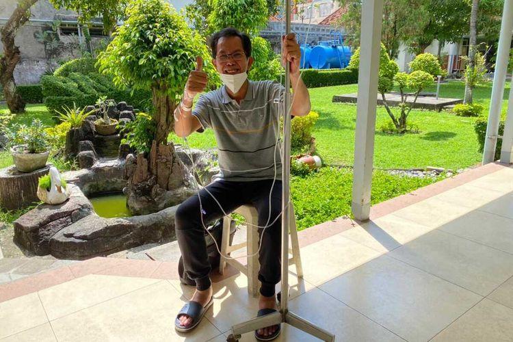 Ketua DPRD Surabaya Adi Sutarwijono menjalani perawatan di salah satu rumah sakit di Kota Surabaya setelah dinyatakan terkonfirmasi positif Covid-19.