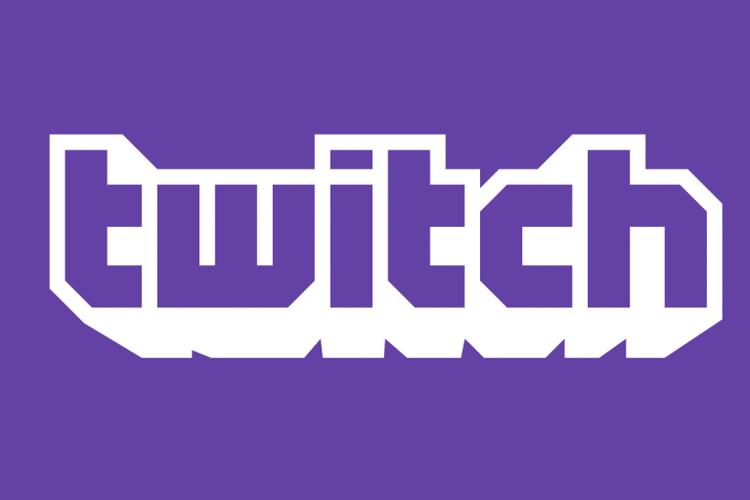 Ilustrasi logo Twitch