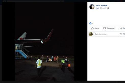Pesawat Tabrak Tiang Lampu Koordinat, Ini Penjelasan Lion Air