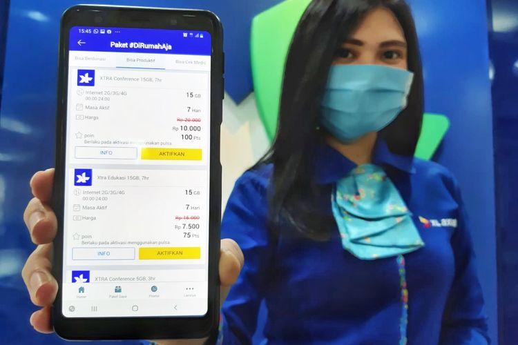 Paket Internet Murah XL Axiata untuk mendukung WFH dan Belajar Online