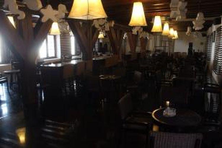 Interior Cafe Bahari di Museum Kebaharian
