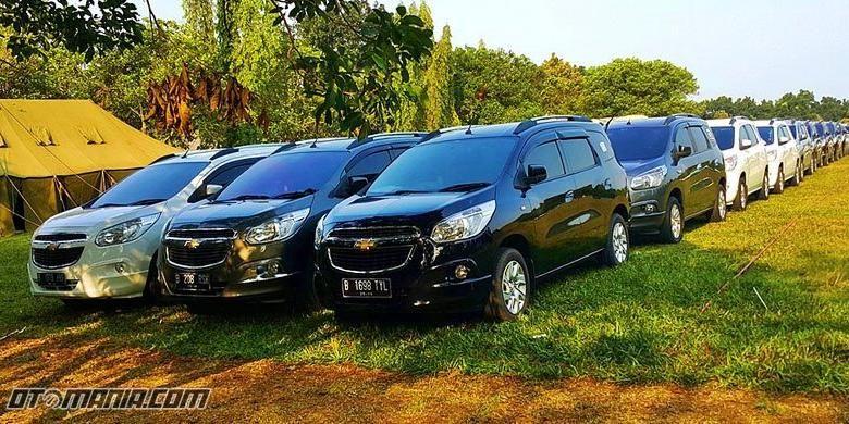 Chevrolet Spin Indonesia di CUC 2015