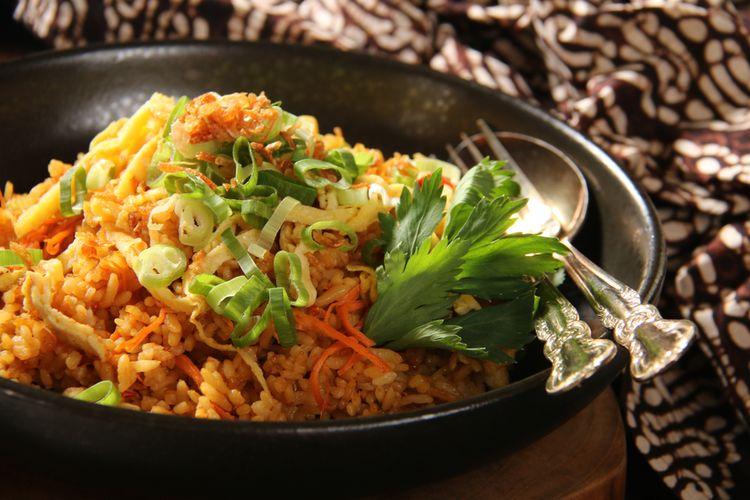 Ilustrasi nasi goreng Jawa.