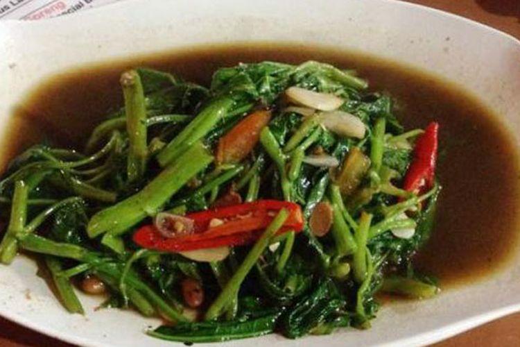 Resep Kangkung Tumis Terasi Ide Makan Siang Ala Restoran