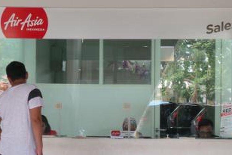 Konter Penjualan Tiket AirAsia di Bandara Juanda
