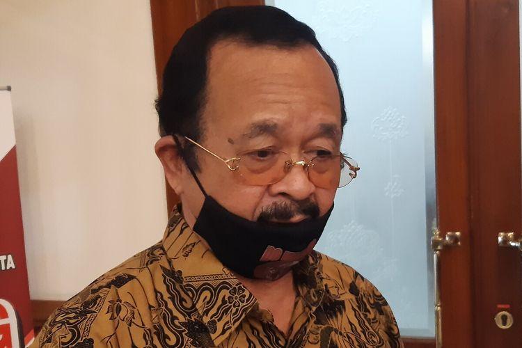 Bakal calon wali kota yang ditugaskan DPC PDI-P Solo sekaligus Wakil Wali Kota Solo, Achmad Purnomo.