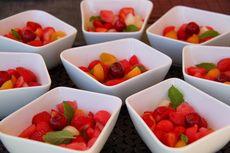 Resep Salad Buah Saus Gula Palem, Cuma 2 Langkah