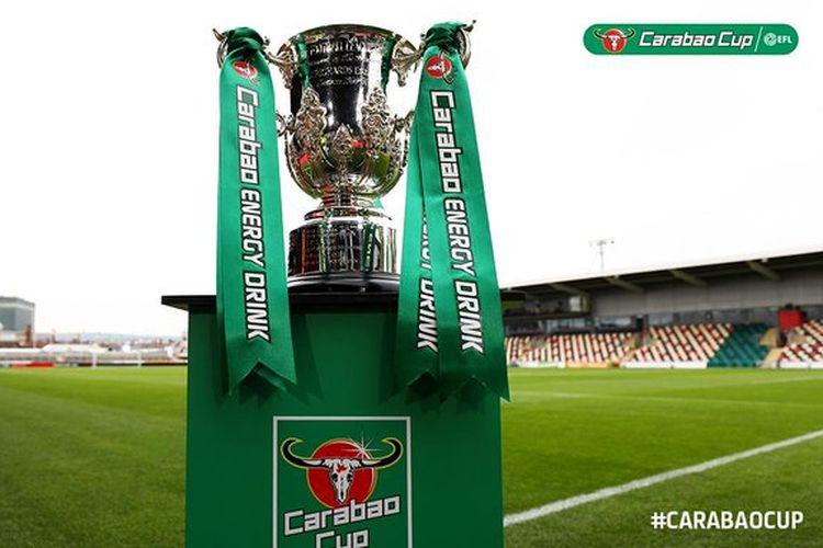 Trofi Piala Liga Inggris alias Carabao Cup.