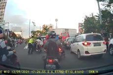 Video Viral Polantas Dorong Pengendara Motor hingga Terjatuh di Semarang, Ini Penjelasan Polda Jateng