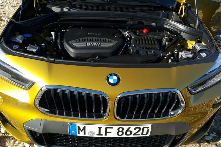 BMW X2 xDrive20d M Sport mengadopsi mesin diesel yang mampu menghasilkan tenaga 190 tk.