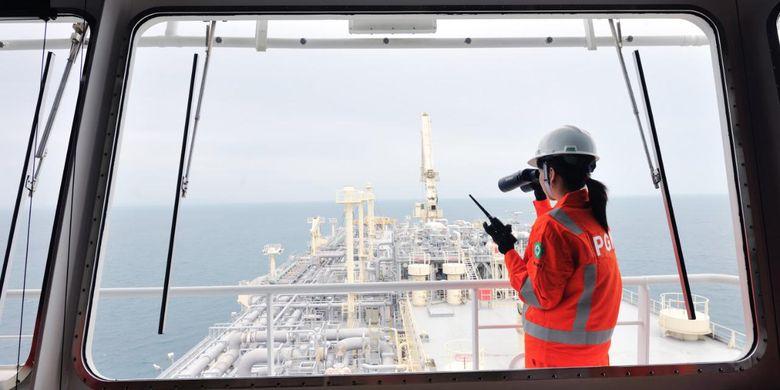 Dokumentasi pembangunan proyek Perusahaan Gas Negara (PGN).