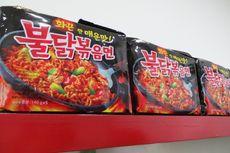 Ikut Tantangan Makan Samyang, Seorang