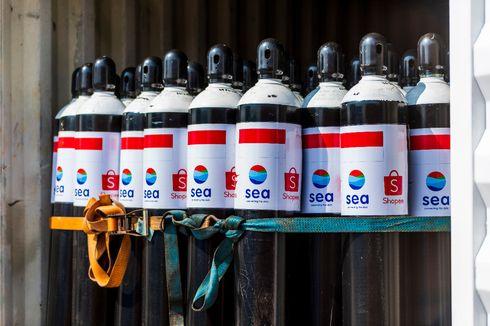 Sea Group Sumbang 1.000 Tabung Oksigen dan 1 Juta Vaksin buat Indonesia