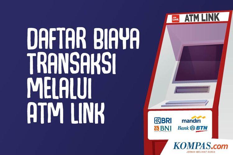 Daftar Biaya Transaksi Melalui ATM Link