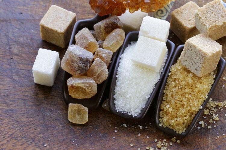 Berbagai jenis gula
