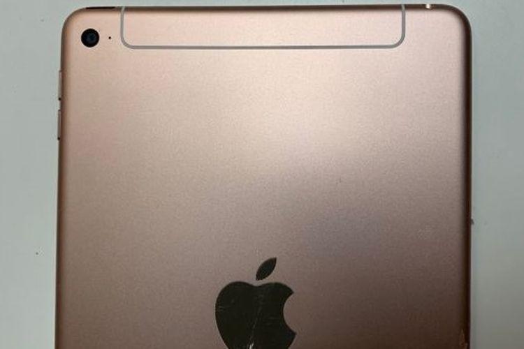 Ilustrasi belakang iPad mini 5