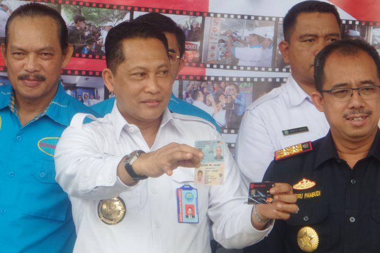 BNN bekerjasama dengan Bea Cukai amankan 57 Kilogram narkotika jenis sabu dari Kalimantan Barat dan Aceh Utara, Rabu (23/8/2017)