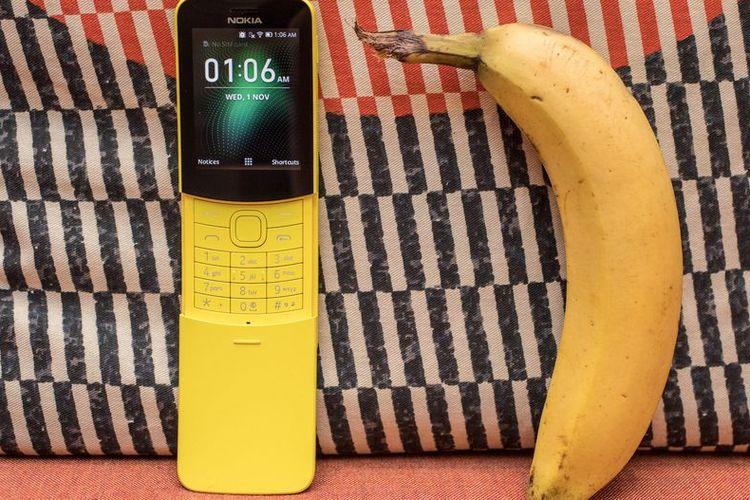 Nokia Pisang 8110 resmi lahir kembali dengan koneksivitas 4G. Selain warna kuning, warna hitam juga tersedia untuk seri Nokia 8110 4G ini.