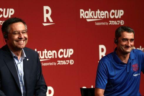 Setelah Hanya Satu Jam, Pertemuan Valverde dan Bartomeu Usai