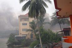 Ini Kerusakan Saat Kerusuhan di Manokwari, Kantor DPRD Terbakar hingga Bakar Tribun Lapangan