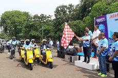Motor 2-Tak Berasap Ngebul, Ikut Sambut Formula E Jakarta