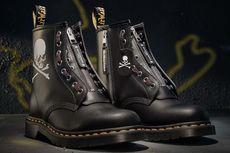 Mastermind WORLD Sematkan Tengkorak untuk Sepatu Terbaru Dr. Martens