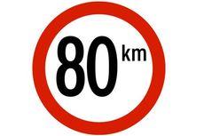 Pembatasan Kecepatan Kendaraan Mulai Berlaku di Luar Tol