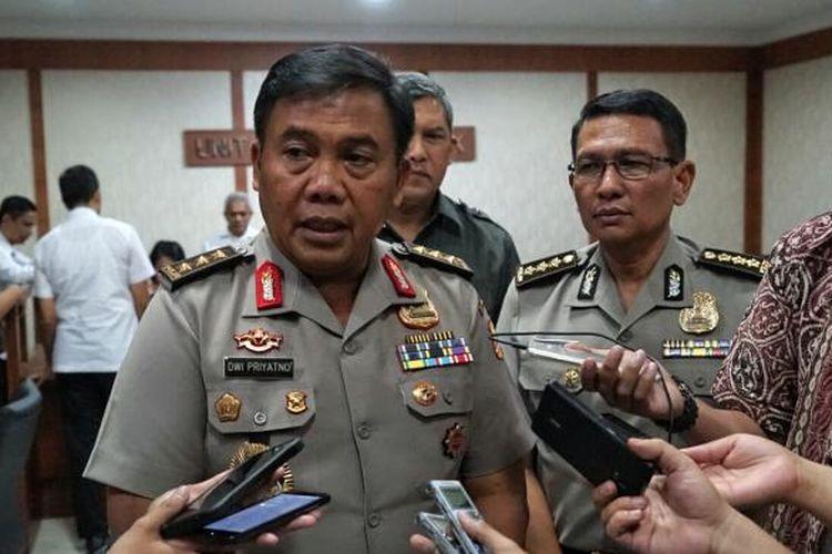 Ketua Satuan Tugas Sapu Bersih Pungutan Liar (Satgas saber Pungli) Komjen Pol Dwi Priyatno