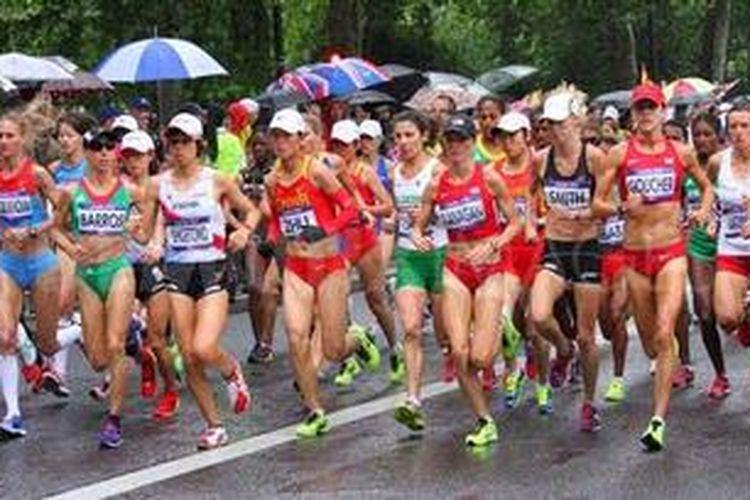 marathon, ilustrasi