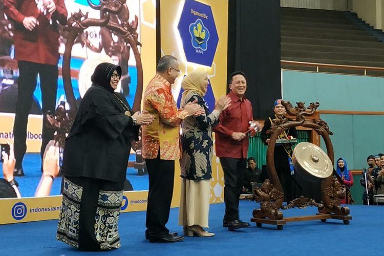 Indonesia International Book Fair 2018 berlangsung 12-16 September 2018 di Jakarta Convention Center (JCC), Jakarta.