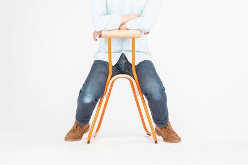 Desain Kursi Saddled Mampu Jaga Postur Tubuh