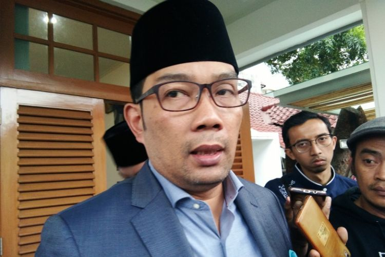 Wali Kota Bandung Ridwan Kamil saat ditemui di Pendopo Kota Bandung, Jalan Dalemkaum, Jumat (13/7/2018).
