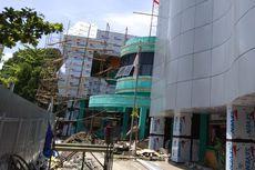 Pekerja Renovasi Pasar Baru Magetan Terjatuh dari Lantai 2