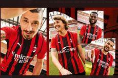 AC Milan Rilis Jersey Kandang 2021-2022, Begini Penampakannya
